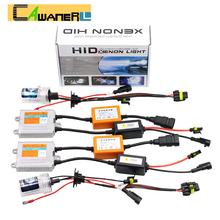 Buy Cawanerl 55W H1 H3 H7 H8 H9 H11 9005 HB3 9006 880 881 Canbus Ballast Bulb Error HID Xenon Kit AC 6000K White Car Headlight for $50.40 in AliExpress store