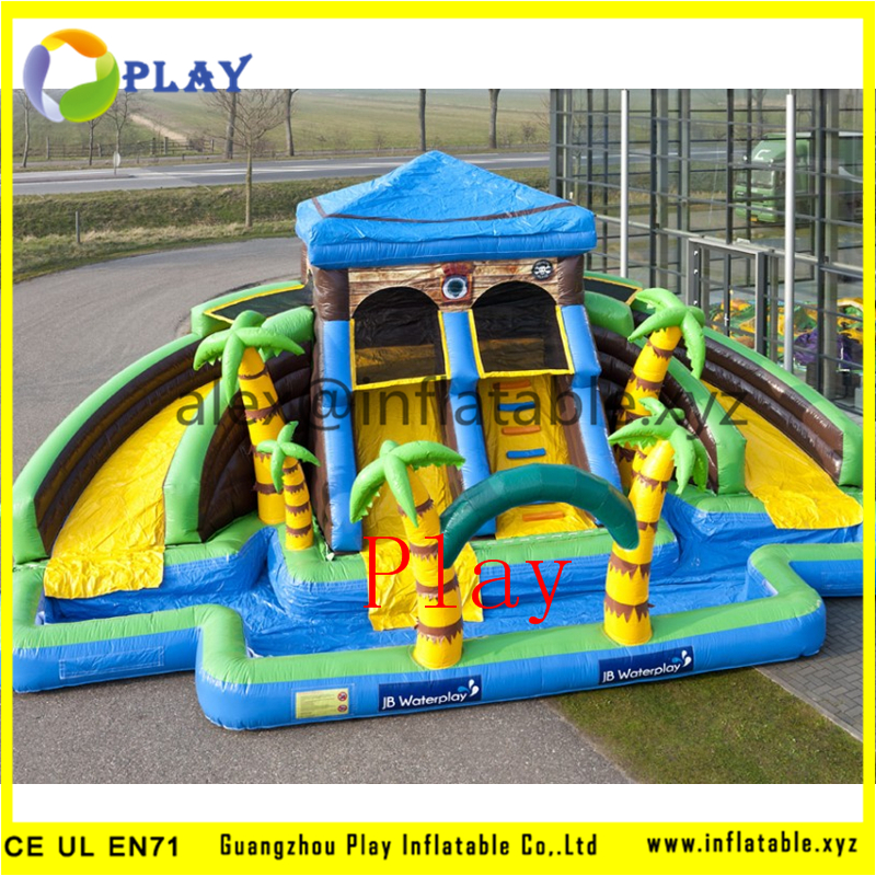 Inflatable Slide Commercial: Commercial Inflatable Slide On Sale Inflatable Giant Water
