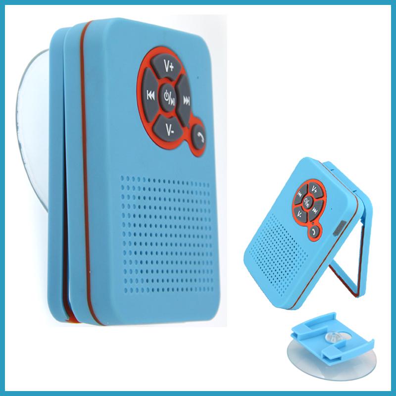 Waterproof Portable Mini Shower Bluetooth Speaker Altavoz Ducha Bluetooth Receiver Handfree Phone Call Caixa De Som wth FM Radio(China (Mainland))