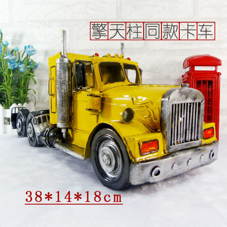 Brand New Classical USA Peterbilt 389 Truck Handmade Metal Artefact Car Model Toy For Collection/Gift/Decoration(China (Mainland))