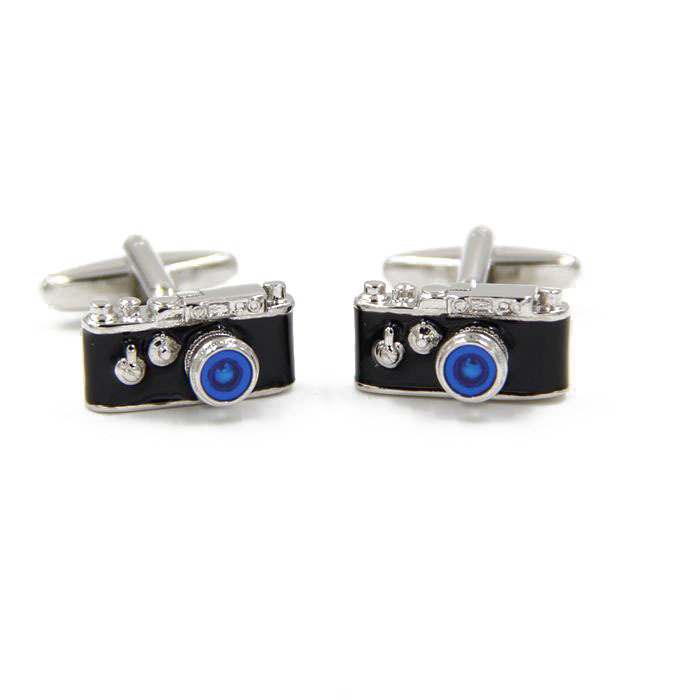 The promotion of new products manufacturers spot camera fun styling cuff links male fashion nail glue Cufflinks(China (Mainland))