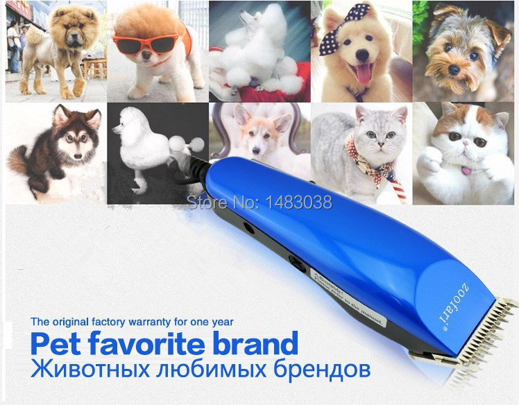 Professional Electric Pet Dog Hair Clippers Trimmer Machine To Haircut Animals Dogs Cats Dog Hair Cutter Shavers Pet Clipper(China (Mainland))