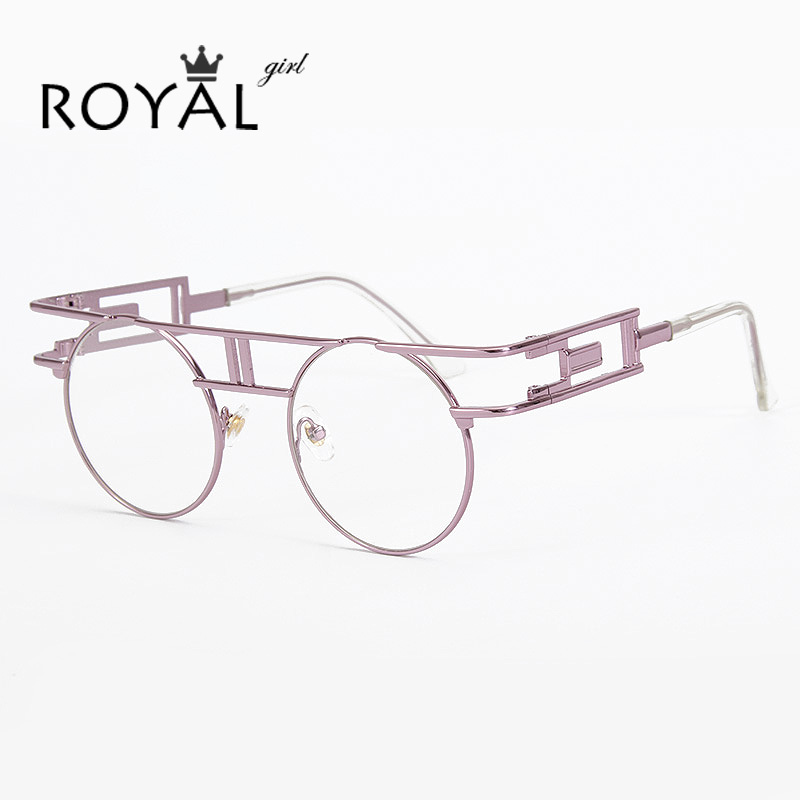 Unique Metal Eyeglass Frames : Aliexpress.com : Buy ROYAL GIRL Vintage punk Eyeglasses ...