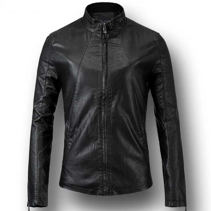 A Scandinavian brand primarily known for their high-quality denim products, Nudie has created a quality biker jacket that would look just as good with a t-shirt and jeans as it would with a fancier ensemble. Made from % genuine leather, the jacket features a .
