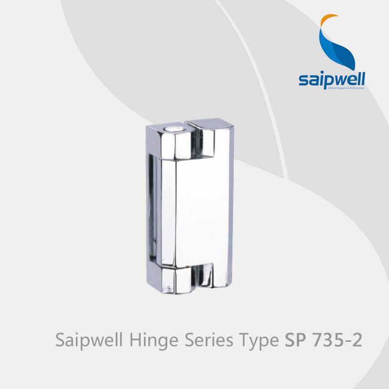 Saipwell 180 Degree Cabinet Hinge Slide Hinge Freezer Hinge SP735-2 in 10-PCS-PACK(China (Mainland))