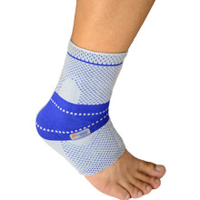Hot new silicone elastic ankle support basketball ankle protect  suporte do tornozelo  free shipping  #ankle2801(China (Mainland))