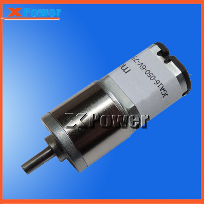 Wholesale JGA16-030 Reduction Motor 15-600rpm Low Noise Gearbox Electric Motor Robot High Torque Low Speed Motor 6v Gear Motor(China (Mainland))