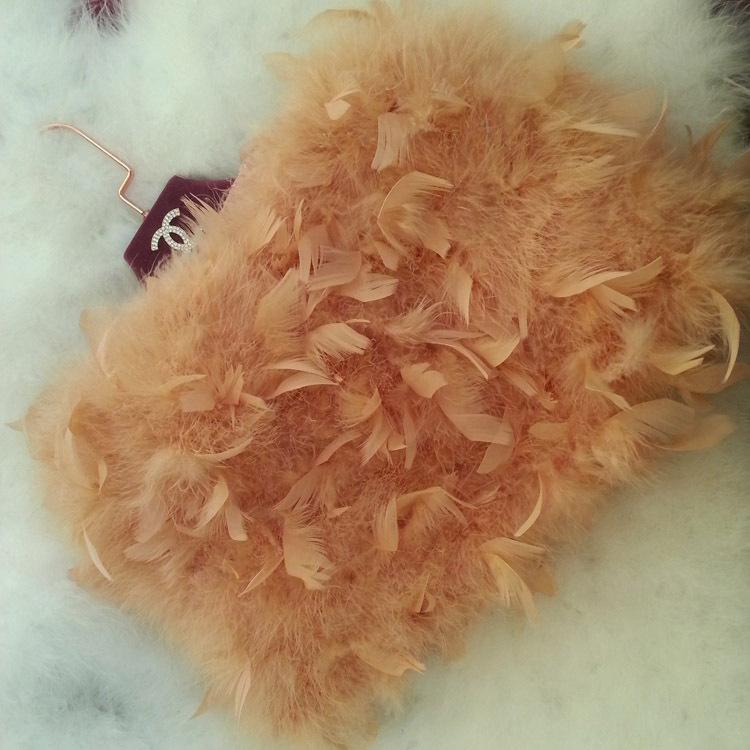 Тенденция конфеты цвет пакет ягодицы профессиональный трапециевидный настоящее естественная мех юбка весна осень зима короткая mini юбка