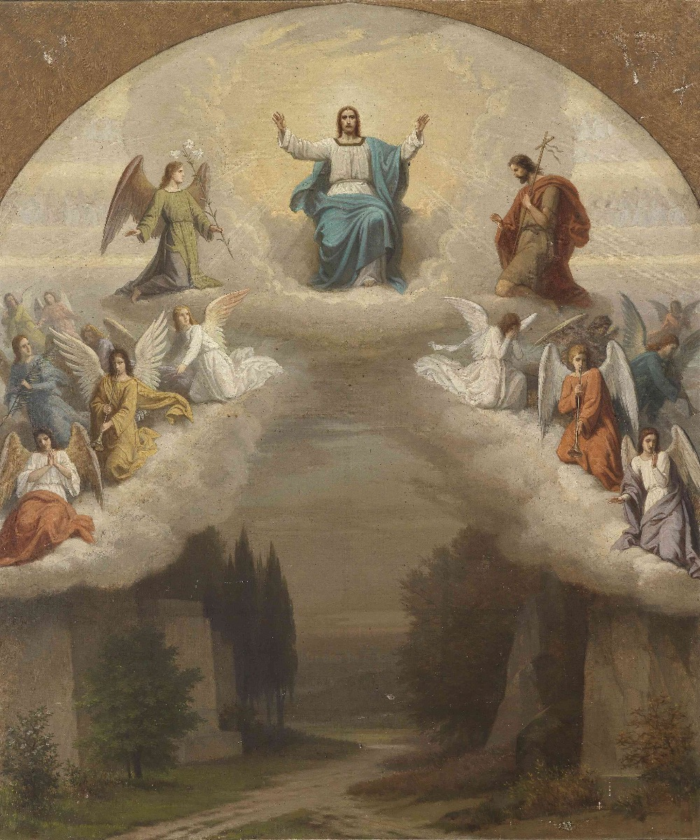 2015 new sale canvas art canvas painting de parede jesus for Angel paintings for sale
