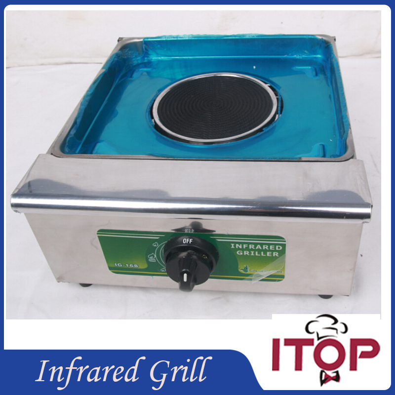 Gas BBQ Grill Infrared Stainless Steel Barbecue Oven Stove Smokeless Flat For Kebab Indoor and Outdoor(China (Mainland))
