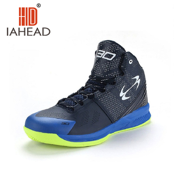 2016 Men's Basketball Shoes Sneaker Trending Style 3 Blue Colors Light PU Basketball Sport Shoes Sneakers For Male ShoesA211