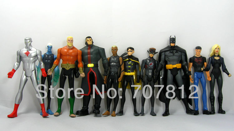 10x DC Universe Batman Action Figures Comic  Heroes Toys Figures 13CM Collections  Best Gift Free Shipping<br><br>Aliexpress
