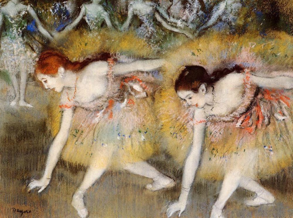 Resultado de imagem para pinturas de Degas
