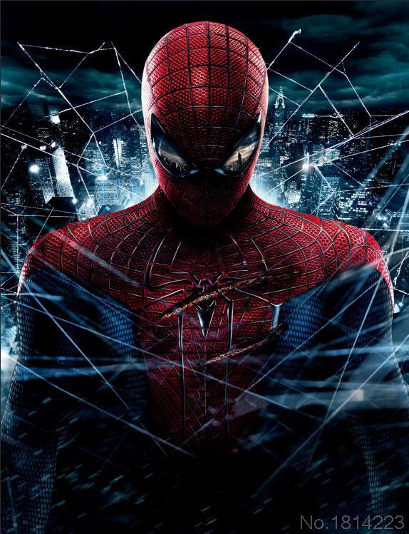 Spiderman City Backdrop