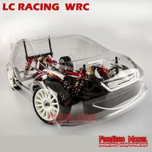 LC-Racing EMB-WRC 1/14th Electric brushless motor Off-Road RC Rally RTR, Supper Remote control Race car, top speed 75Km/h(China (Mainland))