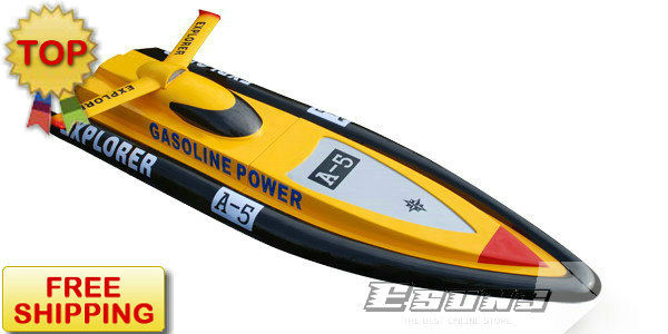Ems Free Shipping Electric Powered Boats 2 4g R C Boat