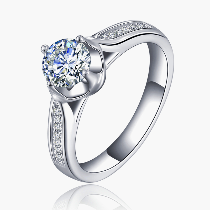 gold plated ring AAA zirconia filled bague engagement wedding party rings for women bague jewelry bijoux free shipping MYR074(China (Mainland))