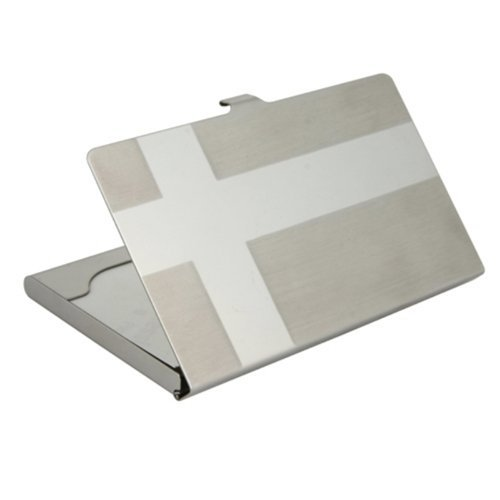 1 PCS Stainless Steel Aluminium Personalized Office Business ID Name Credit Card Holder Case(China (Mainland))