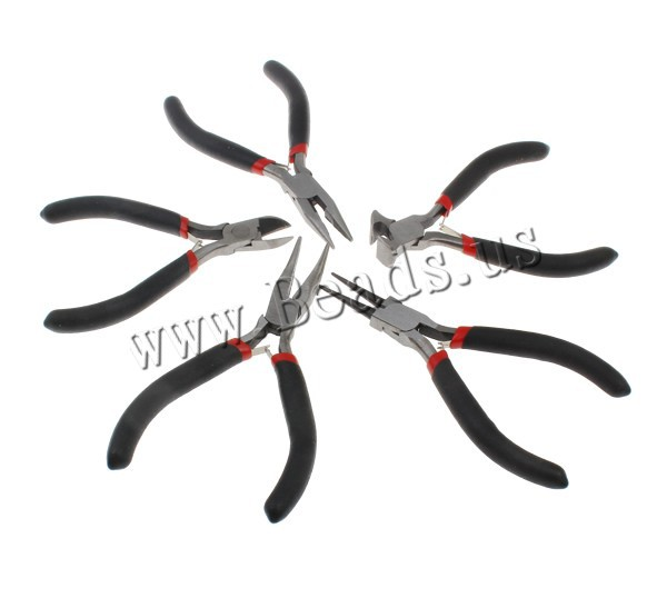 5pcs Hot Handy Tooth Needle Nose Side Diagonal Cutting multi functional pliers set Jewelry DIY Fix Making Tool(China (Mainland))