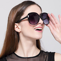 Fashion Women PC Big Frame AC Color Lens Butterfly Sunglasses 2016 New Brand Summer Shades Cheap