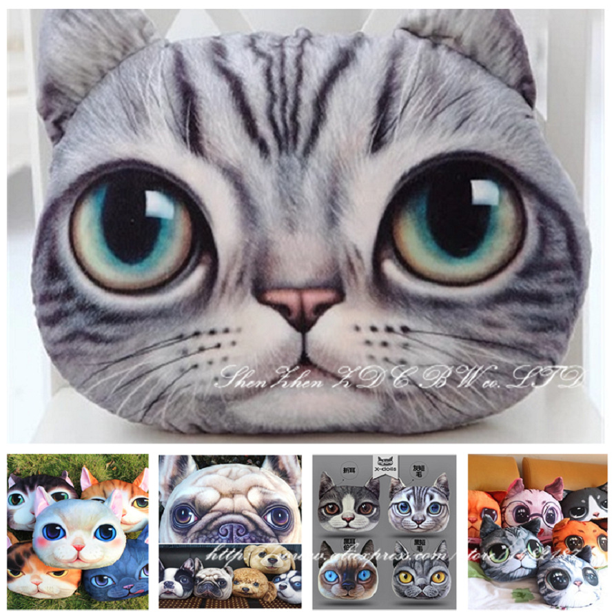 New Nordic Chair Pillow Personality Car Cushion Creative Cat shape Nap pillow Cute seat cushion,SKU 1408S2(China (Mainland))