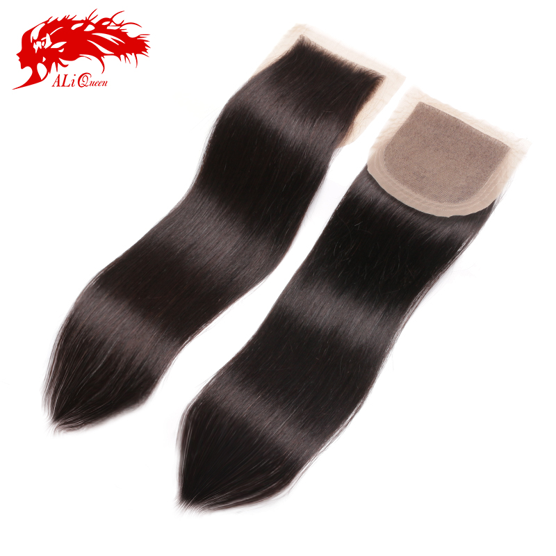 6A Virgin Peruvian Silk Base Closure Straight,4x4 Silk Lace Closure,Cheap Free Part Silk Base Closure Bleached Knots(China (Mainland))