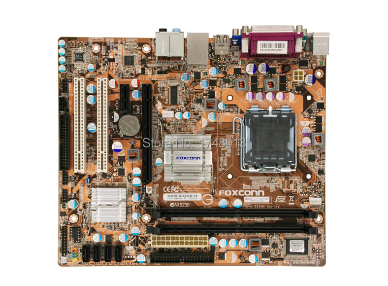 Free shipping 100% original motherboard for Foxconn G31MG-S 775 DDR3 G41 integrated solid-state desktop motherboard(China (Mainland))