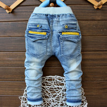 2016 new spring item kids cool jeans pant boy denim pant 2-5 years hotsale(China (Mainland))