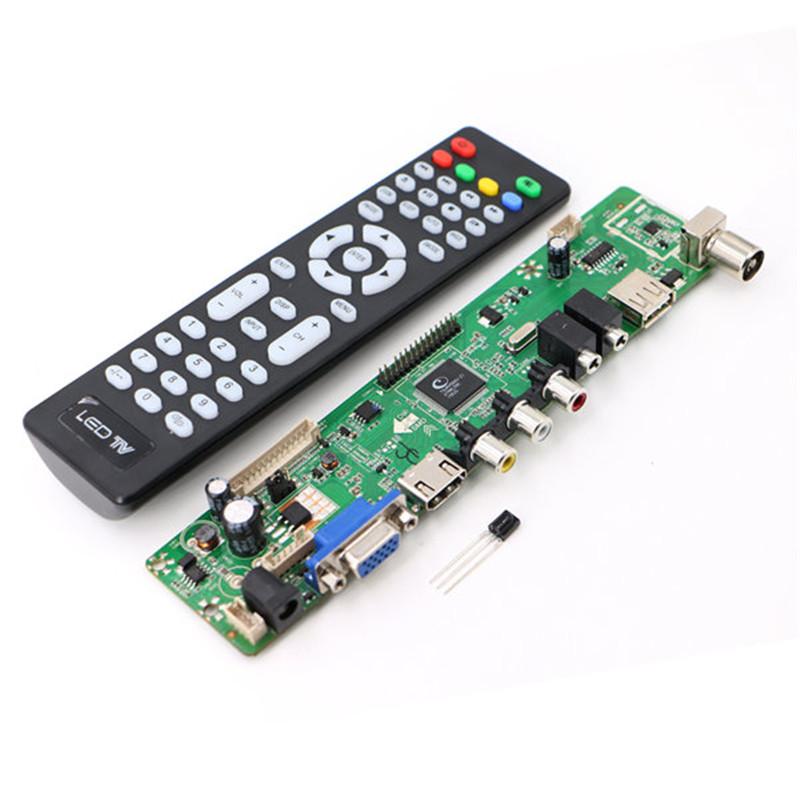 V59 Universal LCD TV Controller Driver Board PC/VGA/HDMI/USB Interface(China (Mainland))
