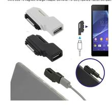 new Micro USB To Magnetic Charger Adapter Converter For Sony Xperia Z1 Z2 Z3 Compact(China (Mainland))
