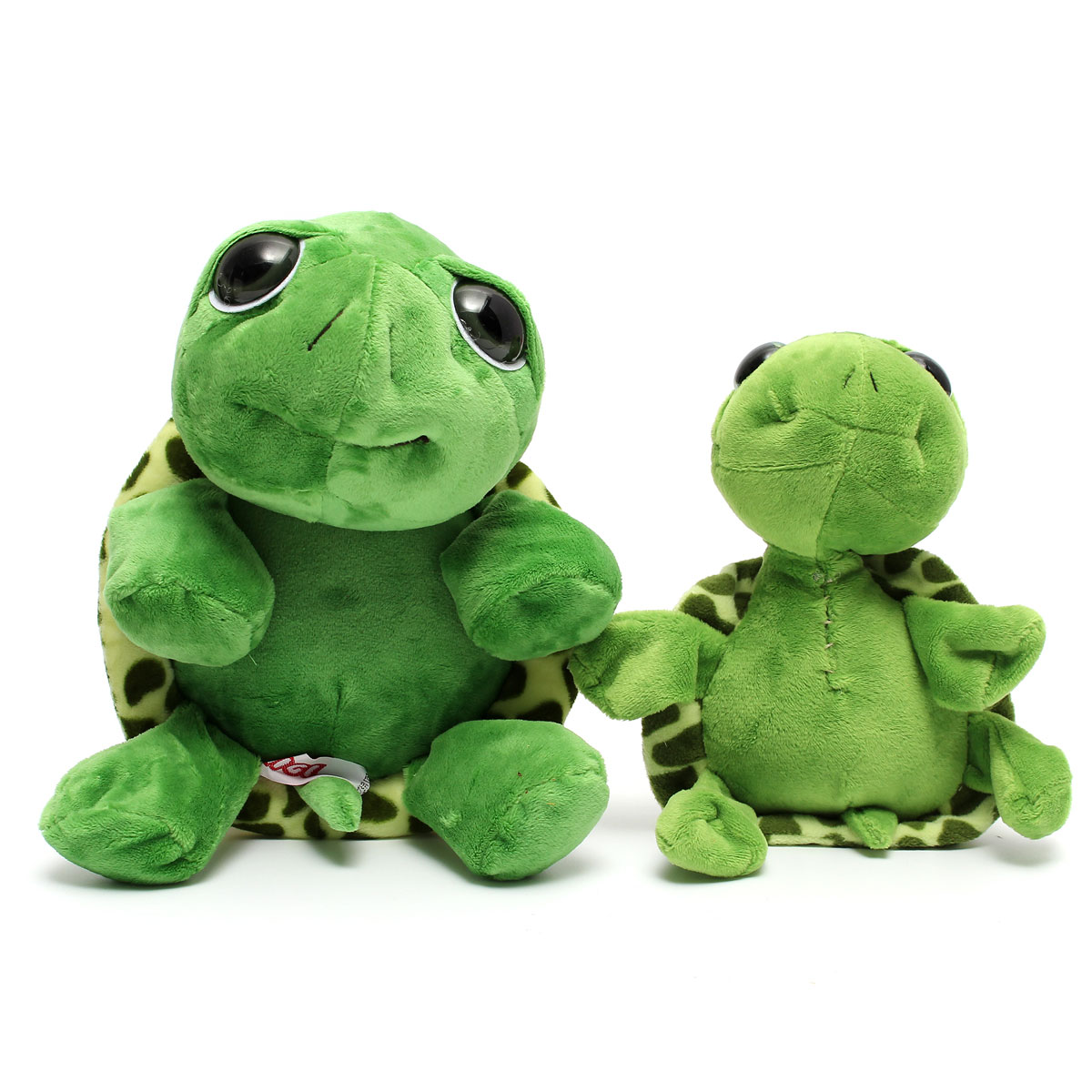 Cute Big Eye Series Tortoise Doll Turtle Stuffed Plush Sweet Animal Family Soft Cotton Toy Baby Kid New Year Gift Home Car Decor(China (Mainland))