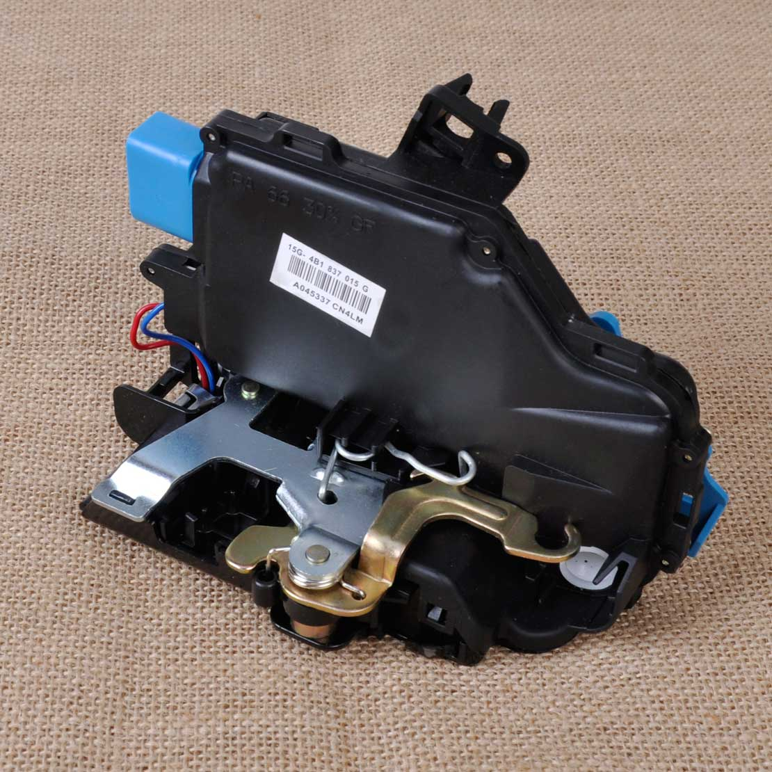 3D1837015 1pc New Black Front Left Driver Door Lock Latch Actuator for VW Golf GTI MK5 Touareg Seat Porsche Cayenne  1TD837015A<br><br>Aliexpress
