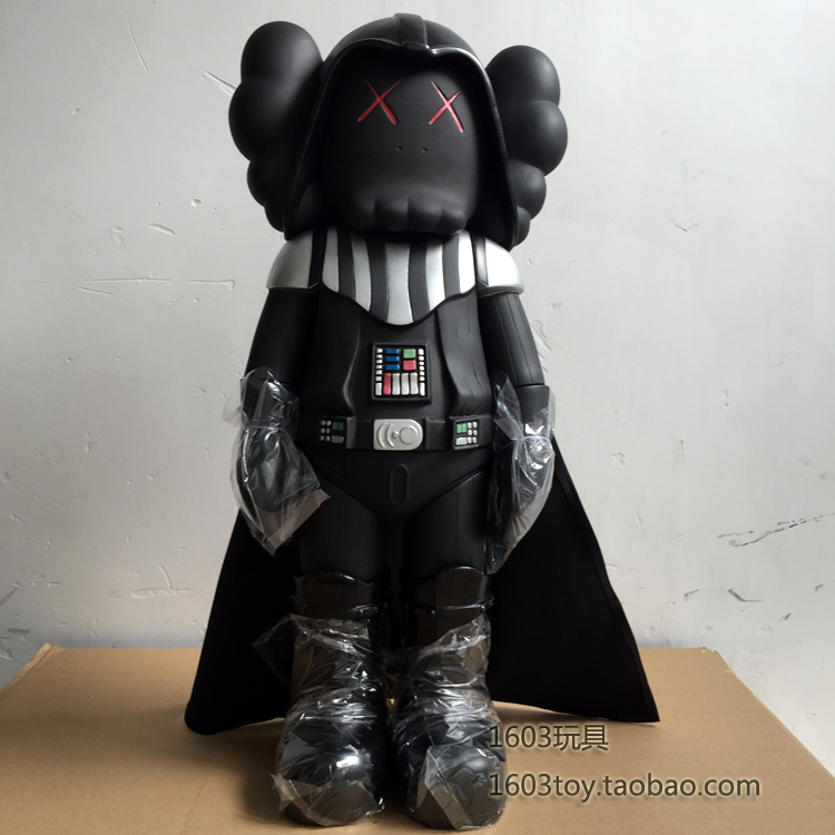 Здесь можно купить  HIGH QUALITY! 20INCH OriginalFake KAWS Star Wars darth vader KAWS MEGA original fake FASHION MODEL WITH ORIGINAL BOX  BY DHL  Игрушки и Хобби