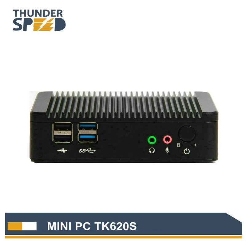 Aluminum Fanless Intel Baytrial J1800 Mini PC Thin Client Dual Core 2.41G 2G RAM 32G SSD Wifi Windows 7 Linux OS(China (Mainland))
