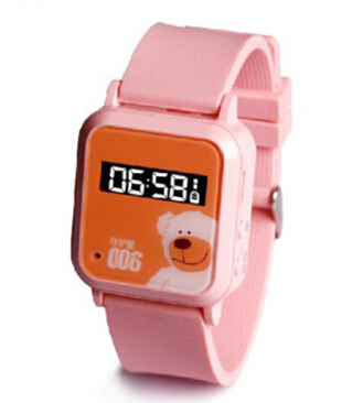 Hot Sale Free shipping 006 Children Kids GPS GSM GPRS Tracker device Watch Double Locate Remote Monitor SOS function(China (Mainland))