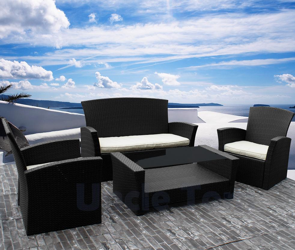 High Quality Kd Outdoor Furniture Wholesale 140 Sets Container Rattan Sets Garden Table Sets