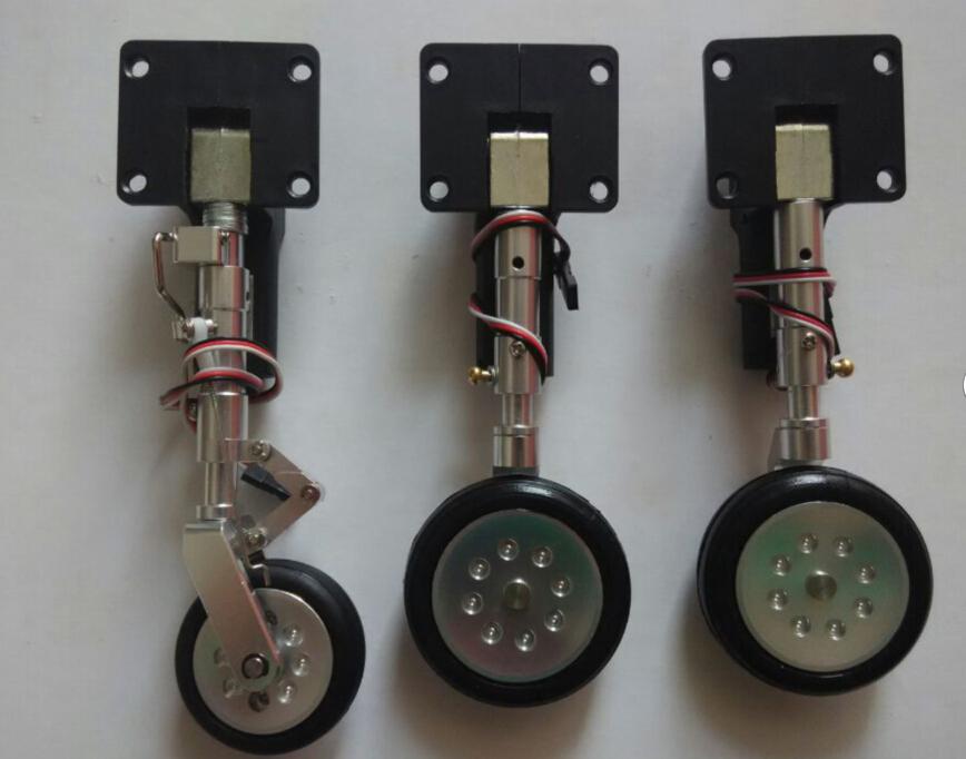Retract Landing Gear Assembly : Aliexpress buy electric retract landing gear for