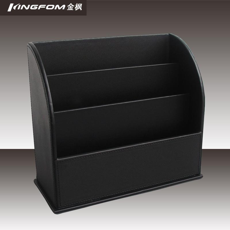 quality leather magazine rack leaflets rack personalized fashion brochure storage(China (Mainland))