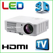 5500 lumens acessórios lcd inteligente tv led projetor full hd 1920x1080 3d home theater projetor de vídeo proyector projektor beamer(China (Mainland))