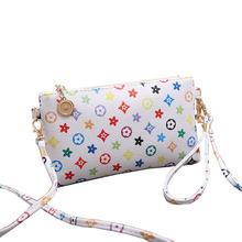 4/Color Fashion 1PC Ladies Shoulder Bag Faux Leather Satchel Women Messenger Bags Handbag Crossbody Bags For Women Wholesale