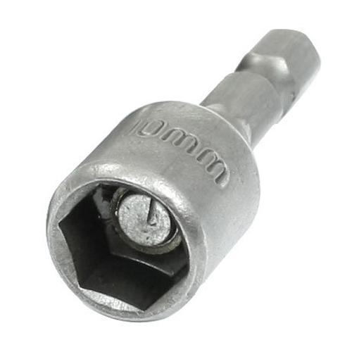 10x( 5 Pcs 43mm Length 10mm Magnetic Socket Nut Driver Setters Hand Tools TOOGOO(R)(China (Mainland))