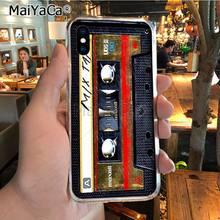 MaiYaCa Ретро mix Кассетная лента mixtape аудио cass распродажа роскошный классный чехол для телефона для iPhone 8 7 6 6S Plus X XR XS MAX 5S SEcase(China)