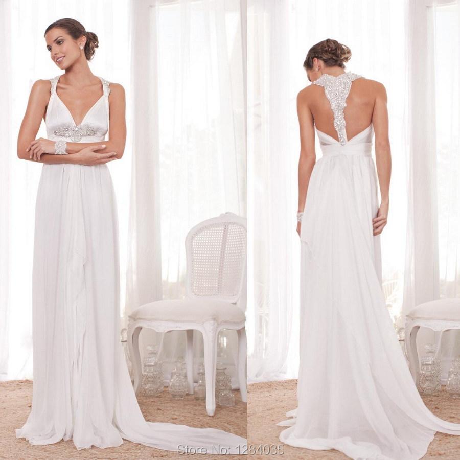 Hot sale custom flowing designer wedding dress style for Sexy wedding dress designers