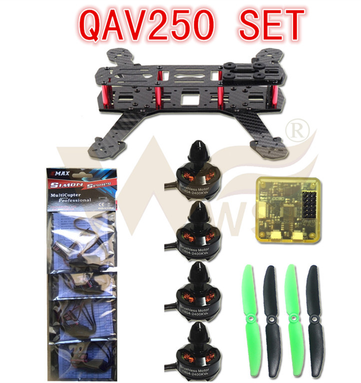 Здесь можно купить  WST DIY 3K Carbon Fiber Mini Q250 FPV drones Quadcopter frame kit+100% Original EMAX MT2204+Simonk 12A Esc+cc3d Flight Control WST DIY 3K Carbon Fiber Mini Q250 FPV drones Quadcopter frame kit+100% Original EMAX MT2204+Simonk 12A Esc+cc3d Flight Control Игрушки и Хобби