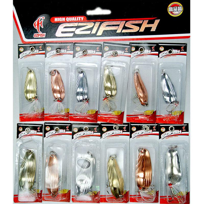 Приманка для рыбалки EZIFISH 12pcs/lot BK12 BK-12