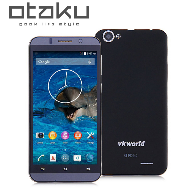 Original Vkworld VK700 MTK6582 5.5inch HD Screen 3G WCDMA Mobile Phone Quad Core Android 4.4 13.0MP Camera 3G Smartphone