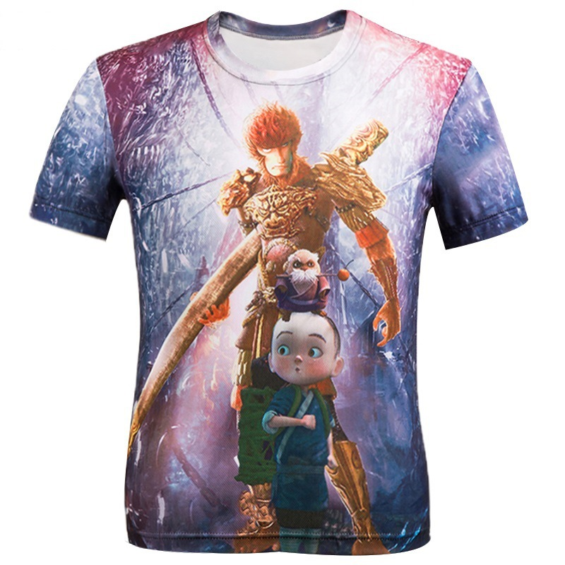 H&Unique-New Japanese anime One Piece character Monkey D. Luffy 3d t-shirt men harajuku cartoon t shirts casual tees tops tz31(China (Mainland))