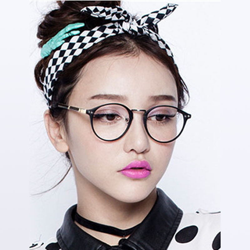 2015 New Korean Style Popular Lady Lovely Round Frame