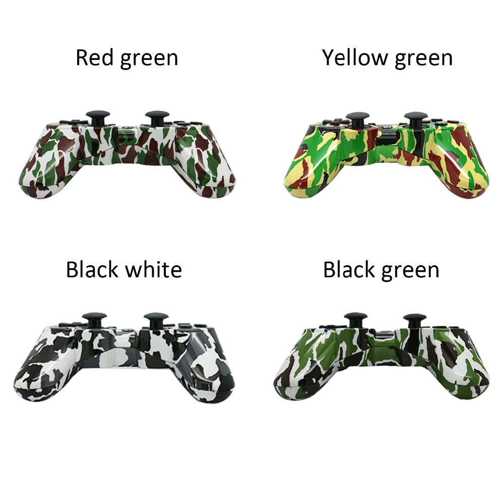 Camouflage Gamepads For PlayStation3, 4colors Camouflage Wireless Bluetooth Game Controller sixaxis Joysticks For PS 3 Console(China (Mainland))
