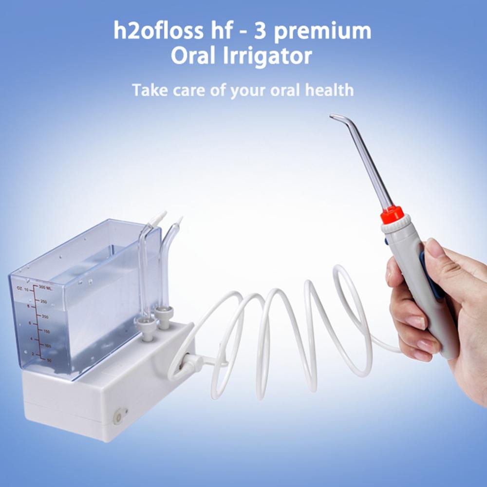 h2ofloss hf - 3 premium Oral Irrigator Teeth Cleaning Machine China Dental Equipment Teeth Water Jet(China (Mainland))